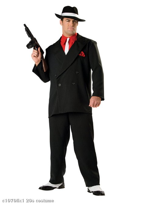 Gangster Elite Adult Costume