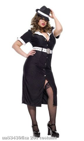 Brass Knuckle Betty Plus Size Adult Costume