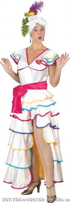 I Love Lucy Rumba Dress Adult Costume