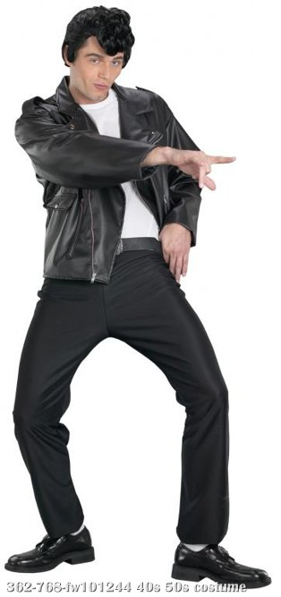 Grease Dannys Deluxe Jacket Adult Costume