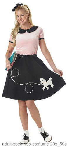 Adult Sock Hop Costume