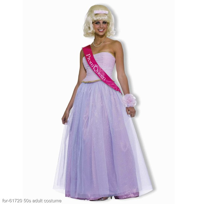50s Prom Queen Adult Costume