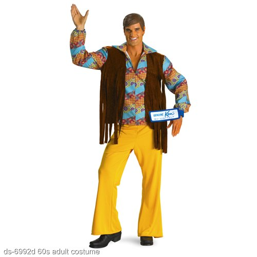 60s Ken Doll Deluxe Adult Costume