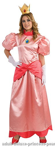 Adult Deluxe Princess Peach Costume