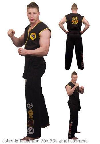 Karate Kid Cobra Kai & Referee Costumes