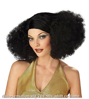 Black Disco Sensation Wig