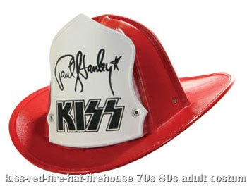 KISS Fire Hat - Paul Stanley Firehouse