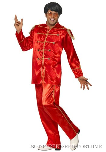 Red Sgt Pepper Beatles Costume
