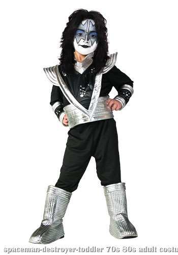 Toddler Authentic Spaceman Destroyer Costume