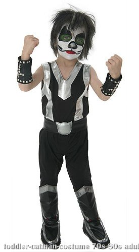 Toddler KISS Catman Costume