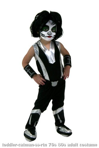 Toddler Screenprint KISS Catman Costume