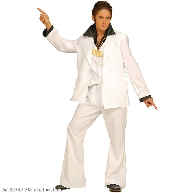 Disco Fever Adult Costume - Click Image to Close