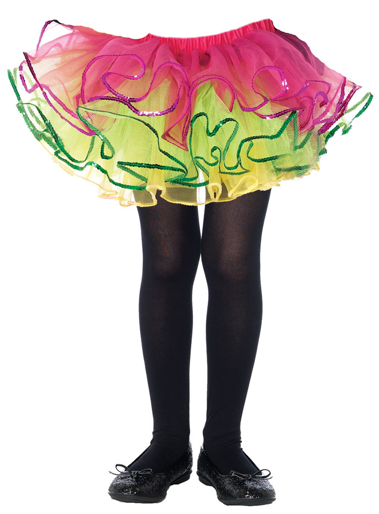 Girls Rainbow Tutu