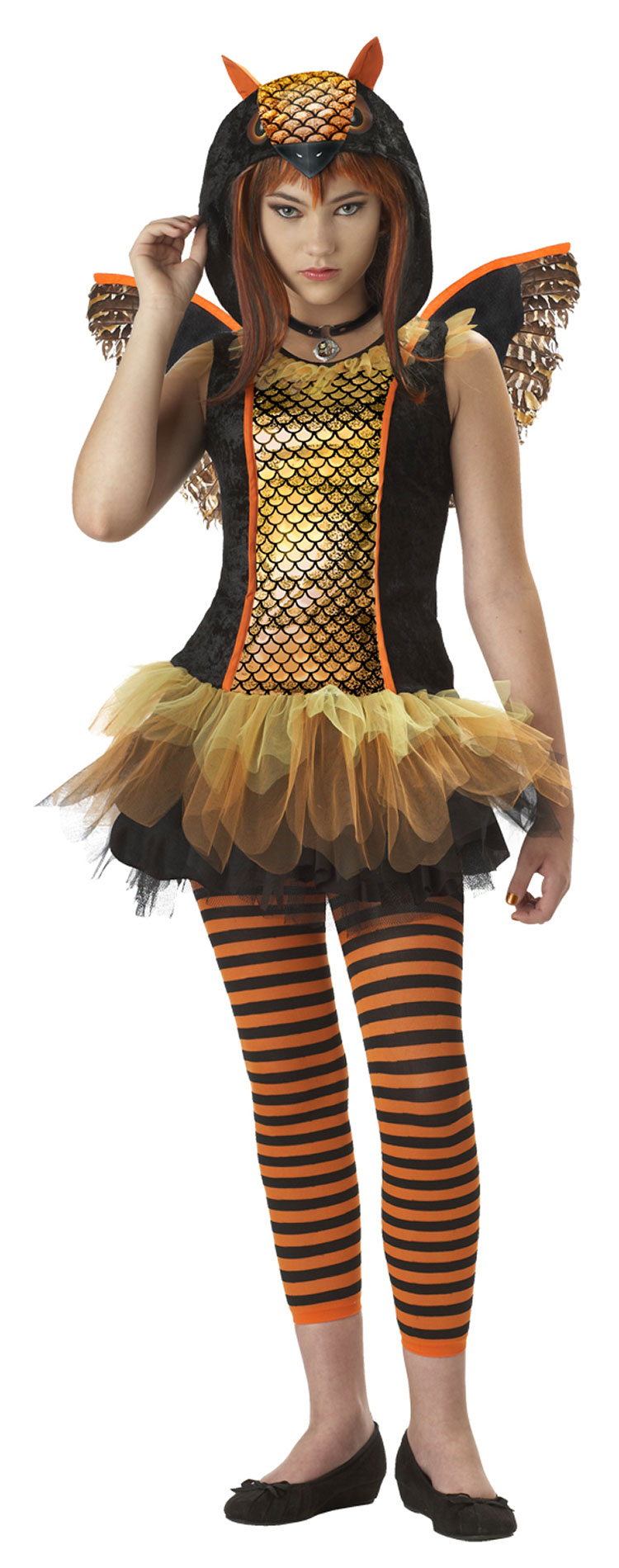 Girls Owlyn Costume