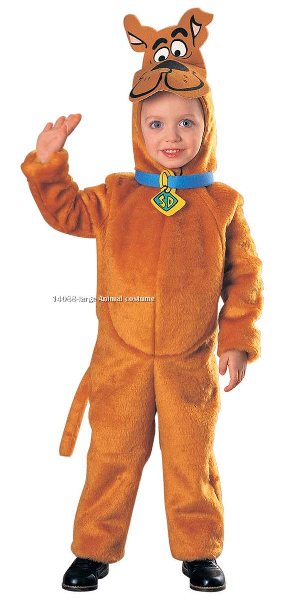 Kids Deluxe Scooby-Doo Costume