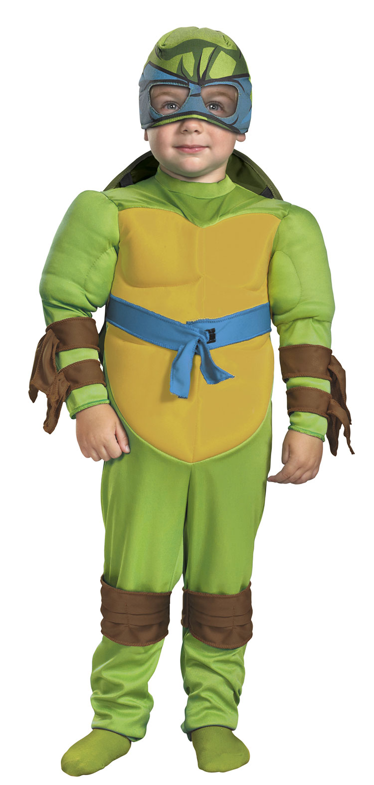 Kids and Toddler Muscle Leonardo Costume