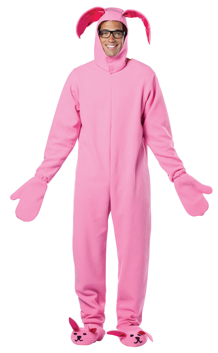 A Christmas Story Bunny Costume Suit