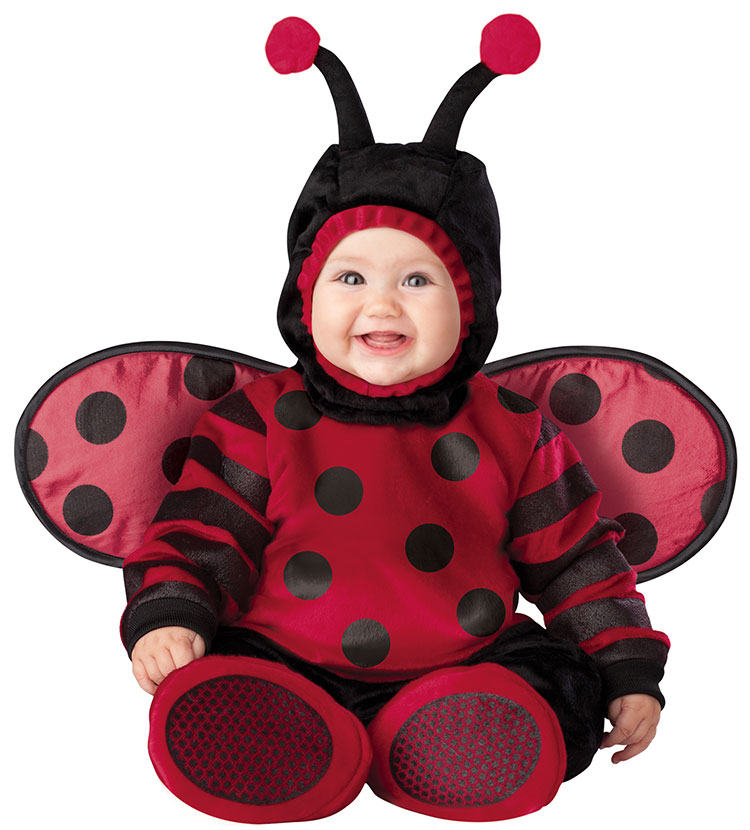 Baby And Toddler Itty Bitty Lady Bug Costume