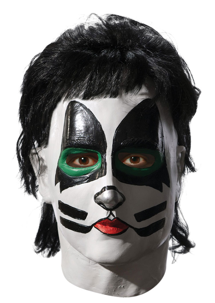 Deluxe KISS The Catman Overhead Mask