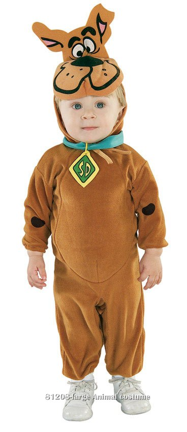 Authentic Baby Scooby-Doo Costume