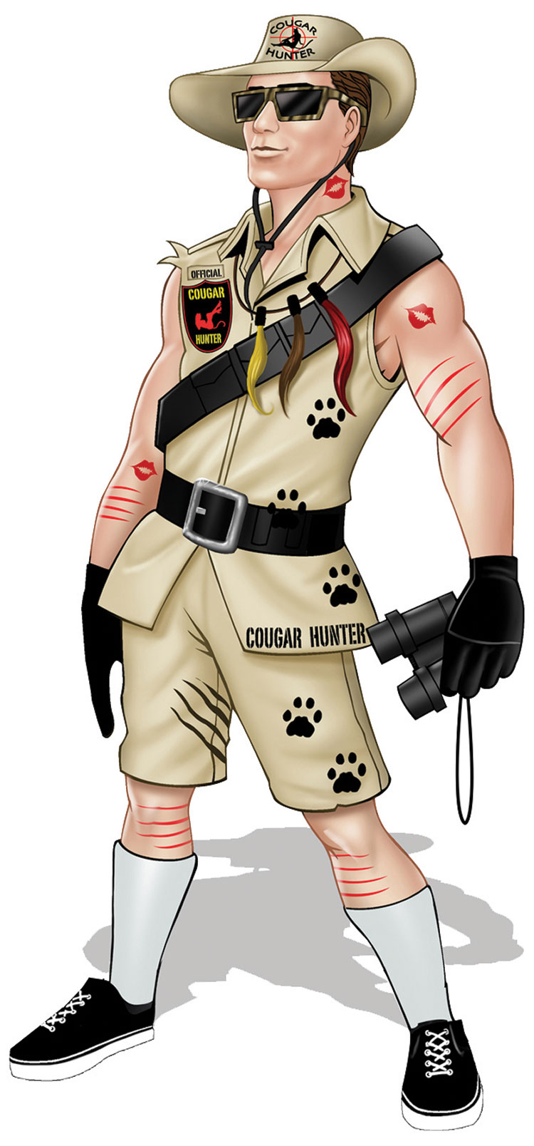 Cougar Hunter Costume