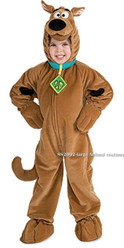 Kids Super Deluxe Scooby-Doo Costume