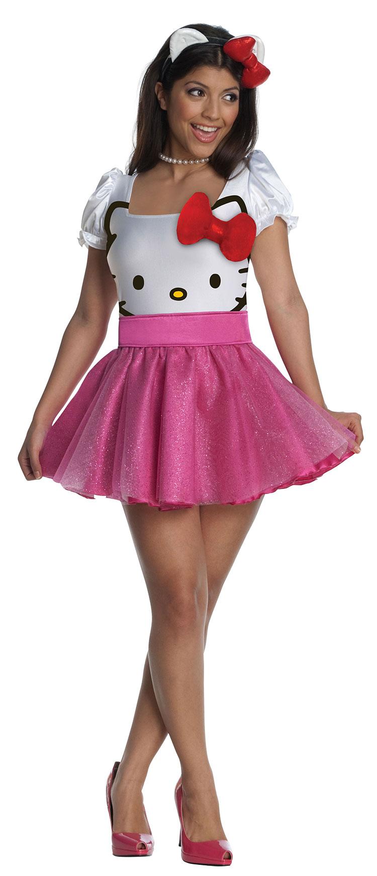 3edf5f80b Sexy Hello Kitty Tutu Dress Costume : Costumes Life