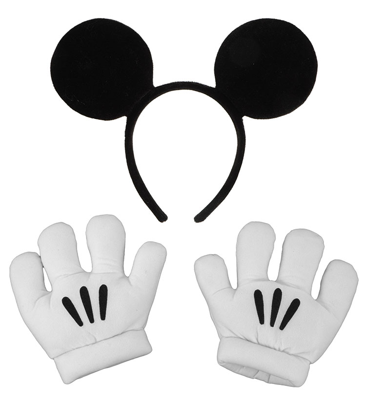 Mickey Mouse Ears with Gloves