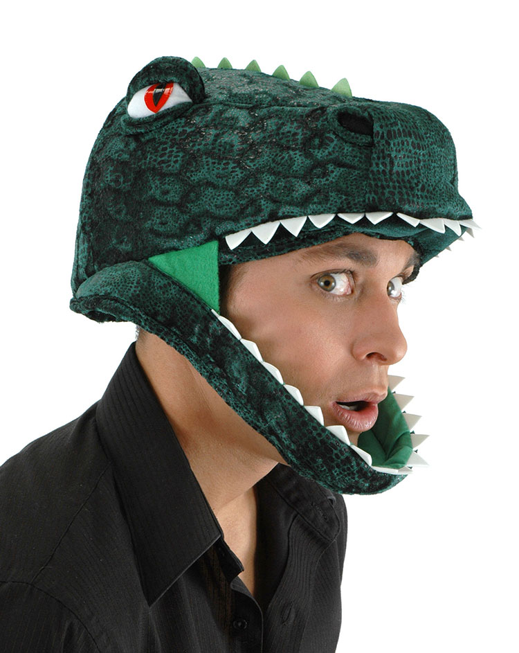 T- Rex Headpiece - Click Image to Close