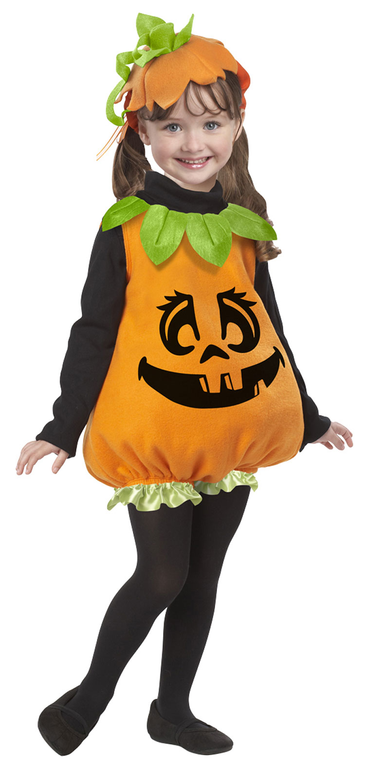 Baby Pumpkin Girl Costume