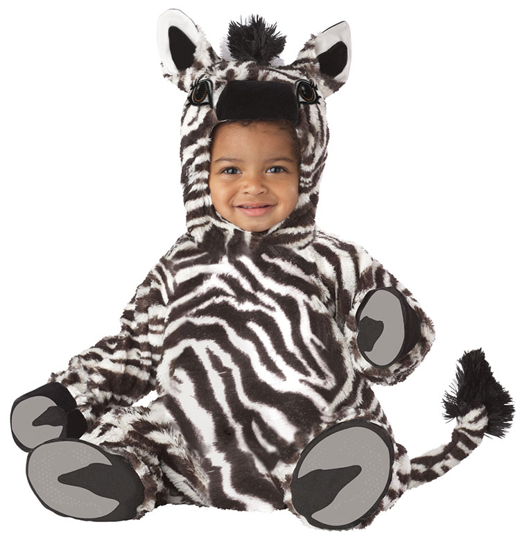 Baby And Toddler Zebra Costume