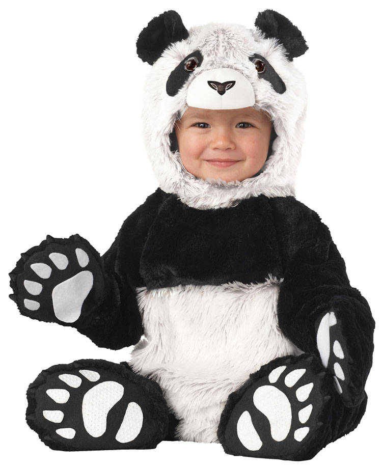 Baby And Toddler Panda Costume