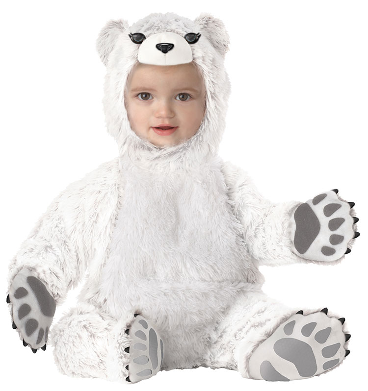 Baby And Toddler Polar Bear Costume