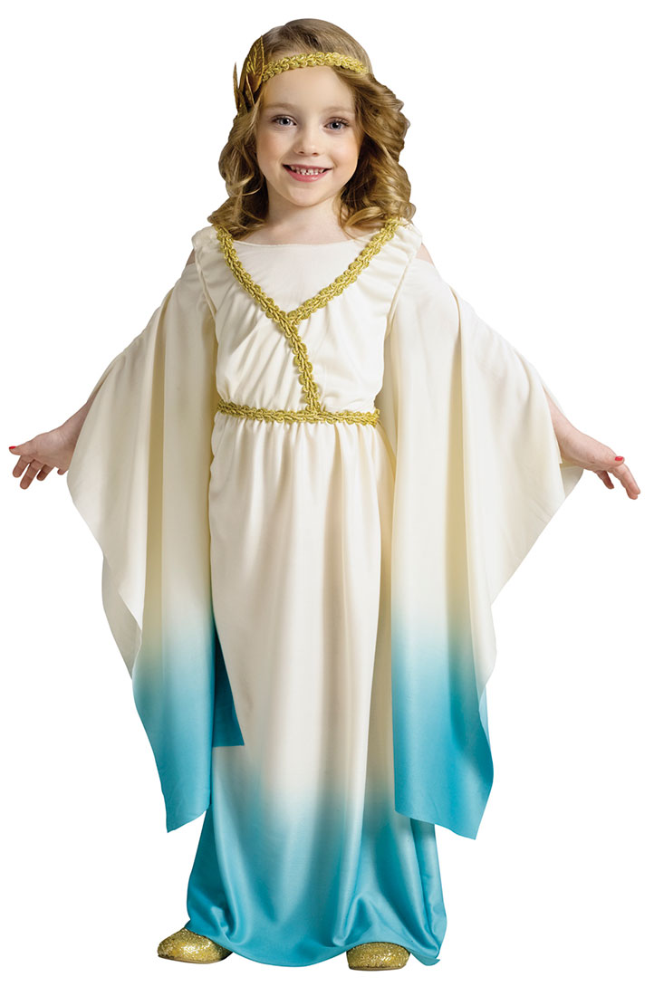 Toddler and Girls Greek Goddess Costume