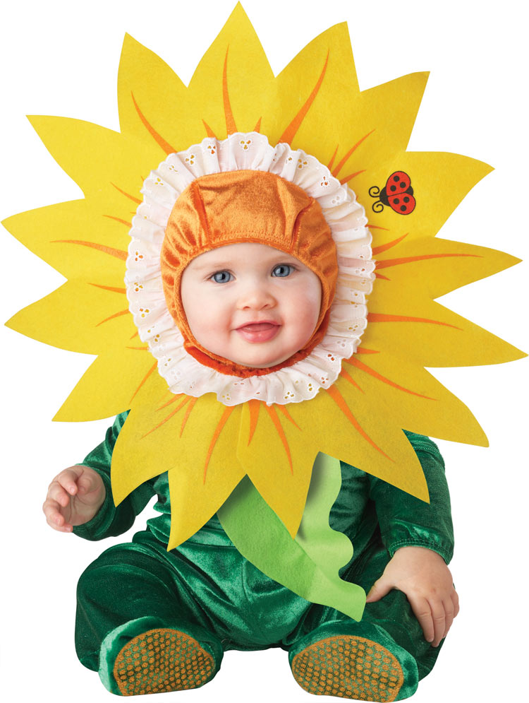Baby And Toddler Silly Sunflower Costume
