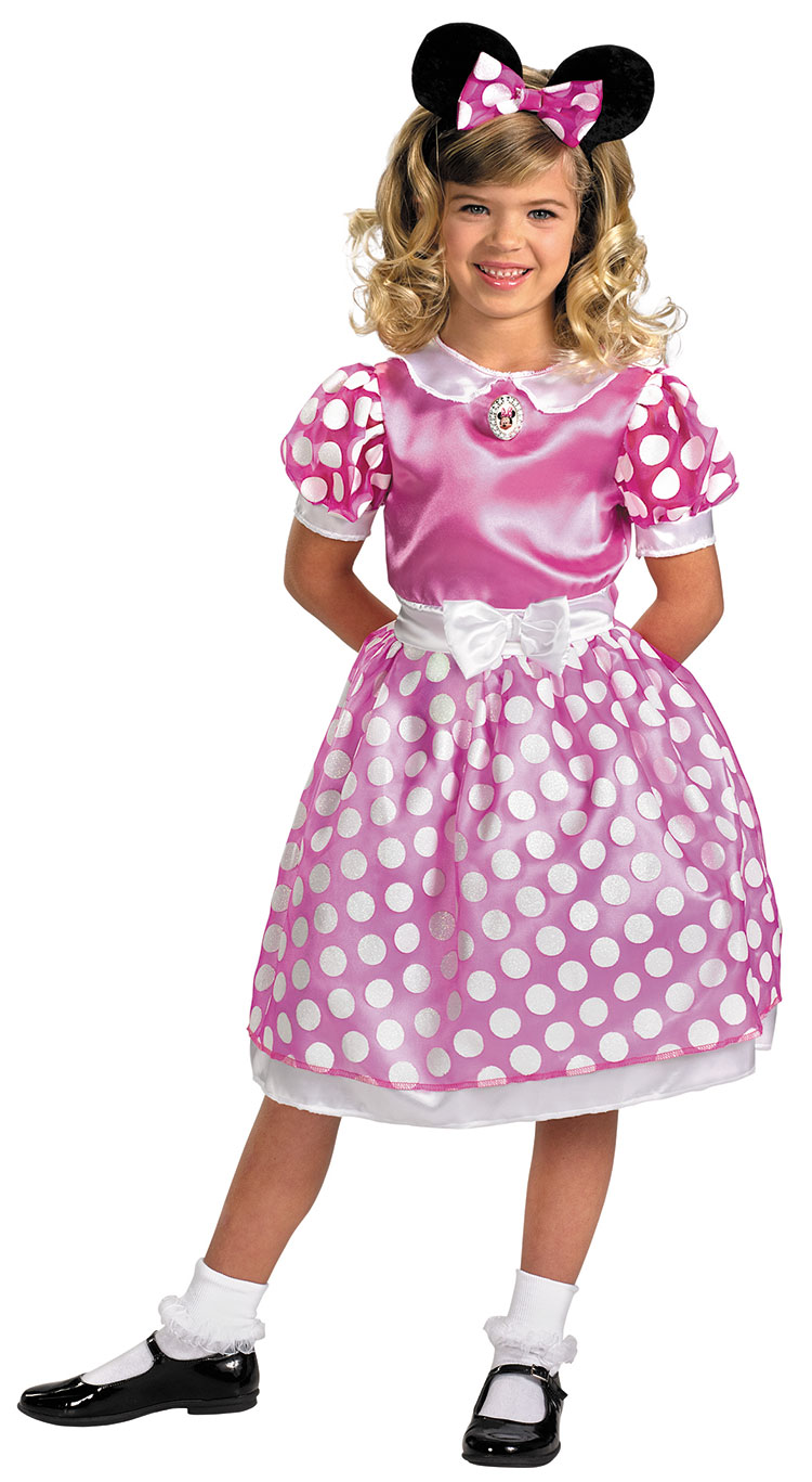Girls Clubhouse Pink Minnie Mouse Classic