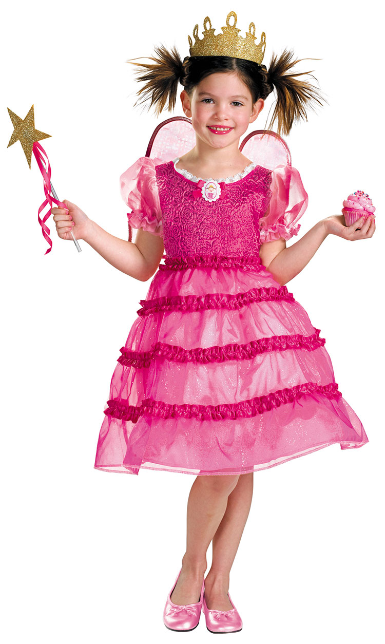 Girls Deluxe Pinkalicious costume
