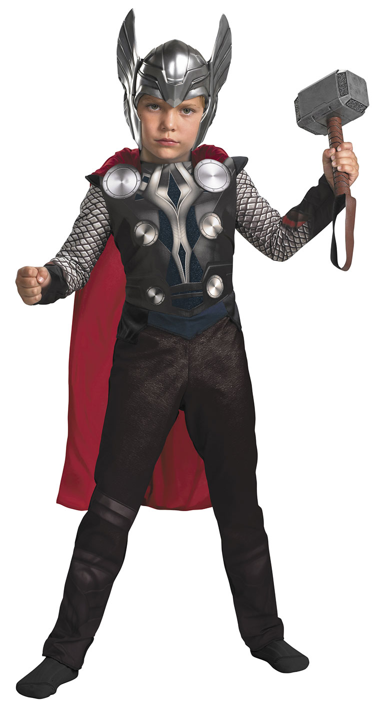 Kids and Toddler Classic Thor Costume