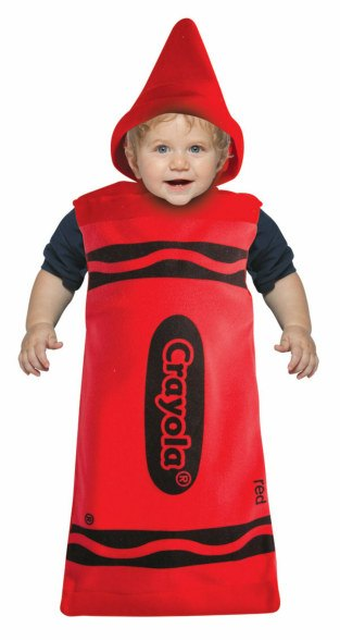 Baby Red Crayola Crayon Costume