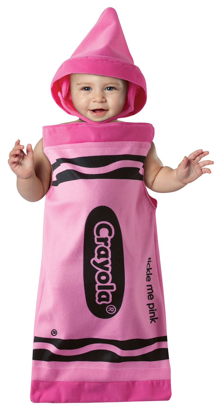 Baby Tickle Me Pink Crayola Costume