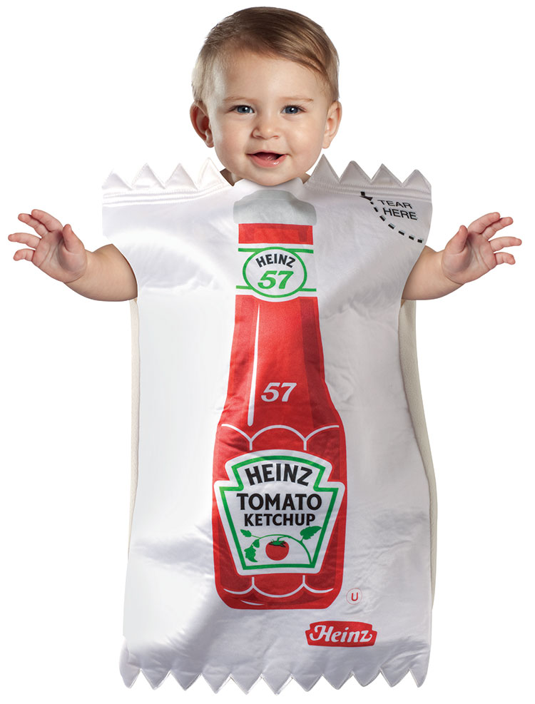 Baby Heinz Ketchup Packet Costume
