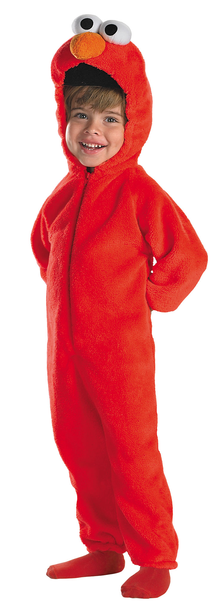 Kids and Toddler Deluxe Giggling Elmo Costume