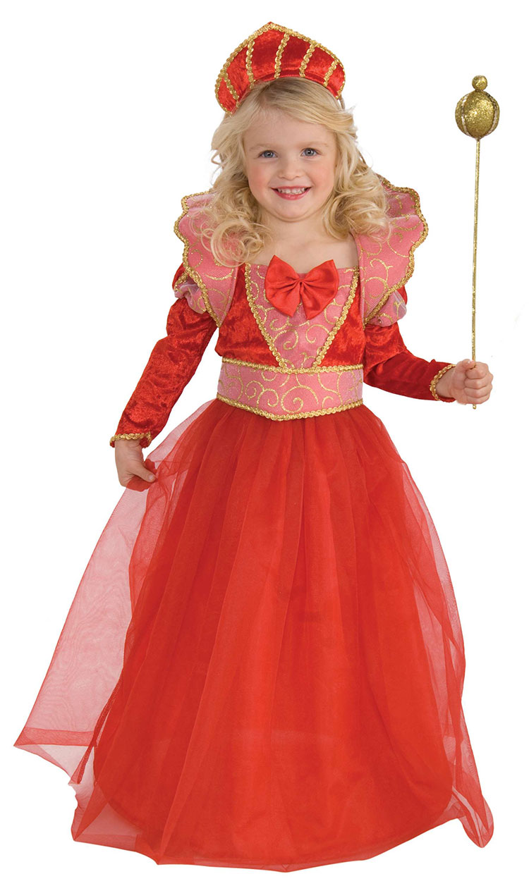 Girls Ruby Queen Costume