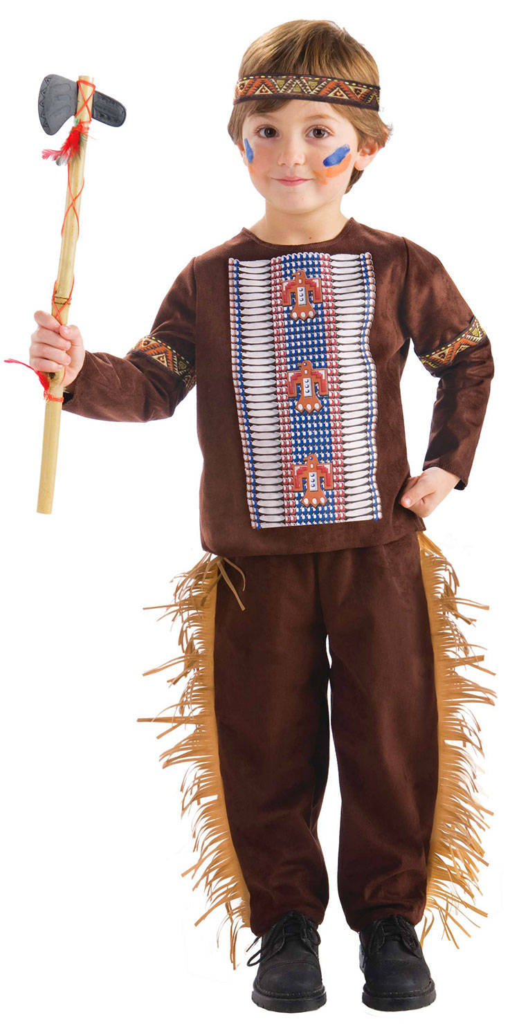 Toddler Girl Native American Costume Toddler Native American Brave
