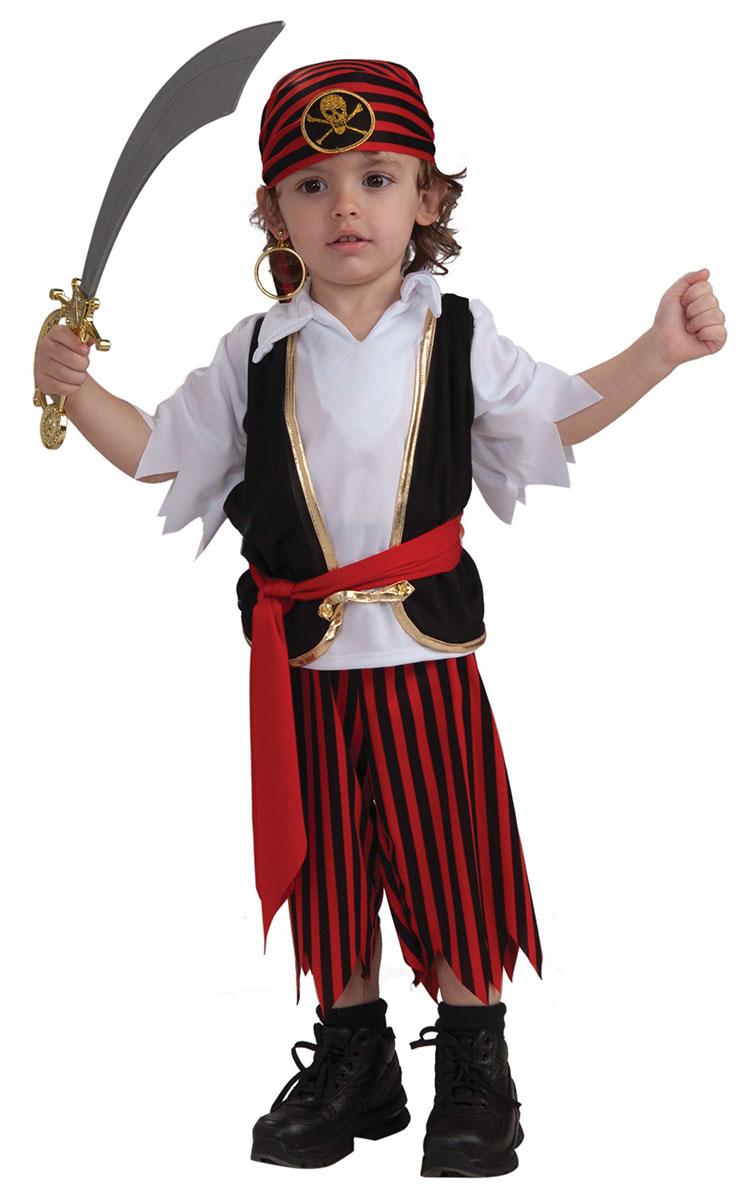 Toddler Lil Pirate Boy Costume
