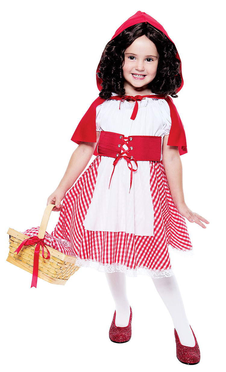 Toddler Pretty Red Riding Hood Costume