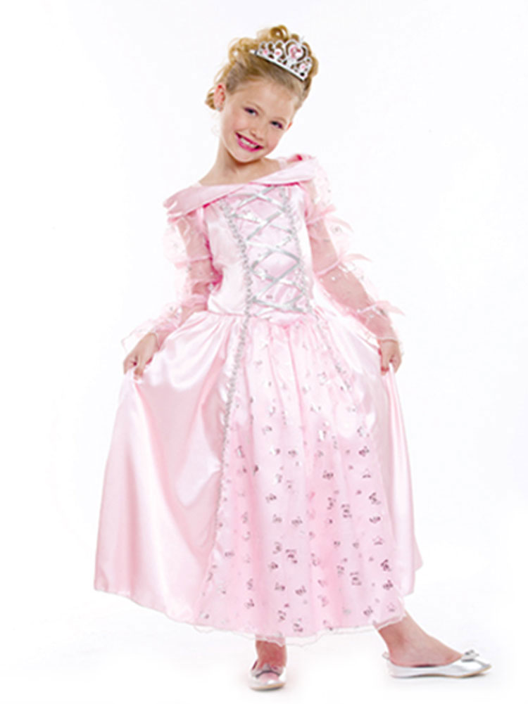 Toddler Elegant Pink Princess Costume