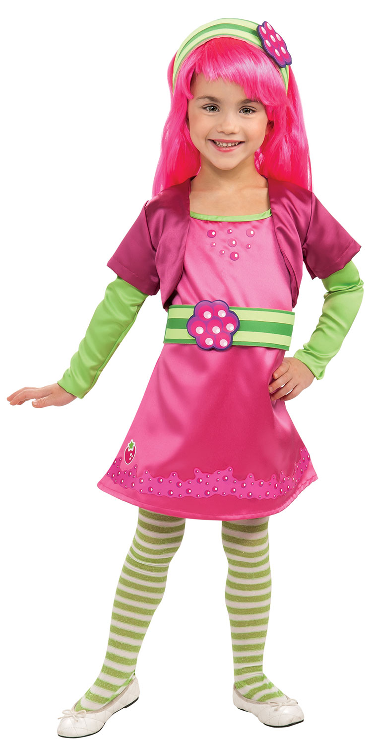 Girls Deluxe Raspberry Tart Costume