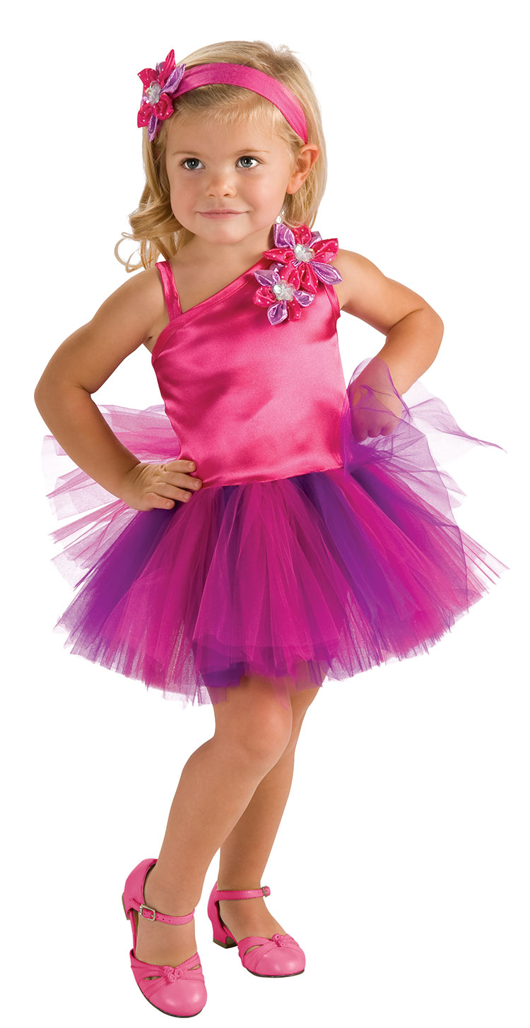 Toddler Pink And Purple Fairy Tutu Costume