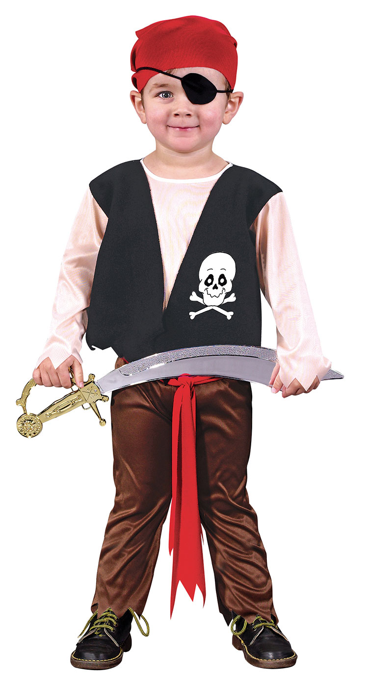 Toddler Playful Pirate Costume